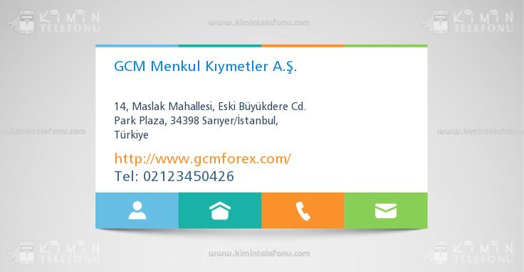Gcm forex telefonu